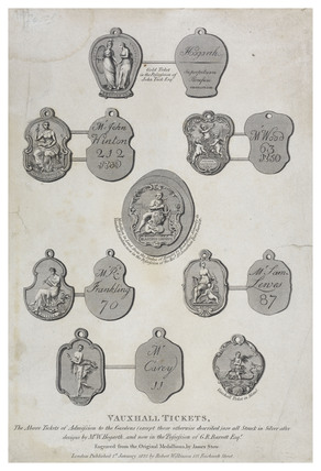 Vauxhall Tickets: 1825