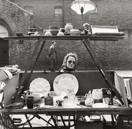 Street market; 1960