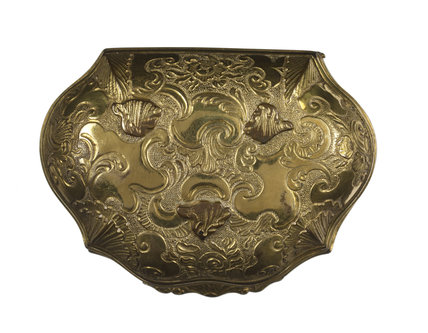 Gold platedsnuff box c. 1770