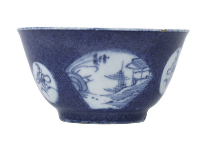 Tea bowl: c. 1760-1765