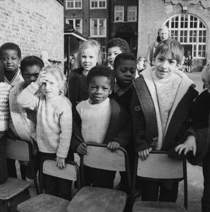 Children at Carleton Infants School; 1967-1971