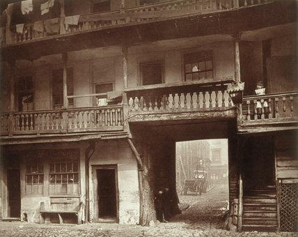 The Oxford Arms, Warwick Lane: 1875