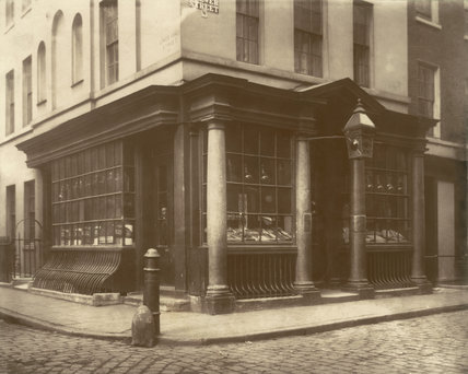 Shop in Brewer Street, Soho: 1878