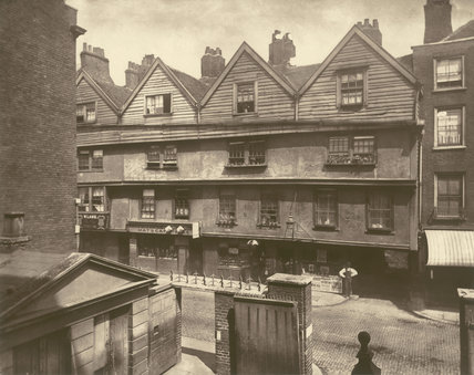 Old Houses In Gray's Inn Lane: 1878
