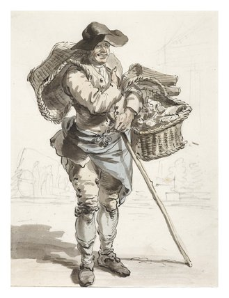 The Oyster Seller: 1759