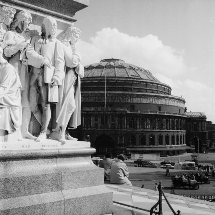The royal albert hall 1964 by henry grant at museum of london for Door 12 royal albert hall