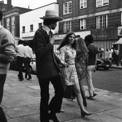 Shopping on the King's Road; c. 1970