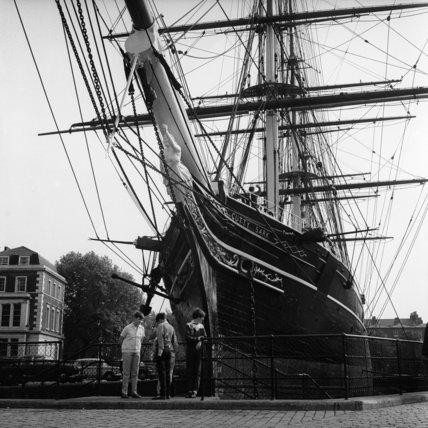 Cutty Sark in Greenwich;