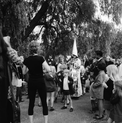May Day Celebrations in Parliament Hill Fields; 1947