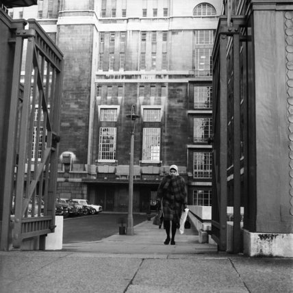 Entrance to Senate House c.1965