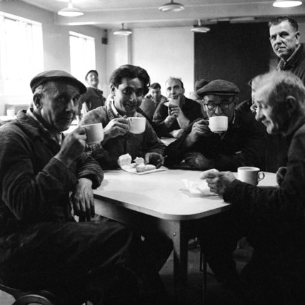Tea break during vocational training at a centre in New Cross