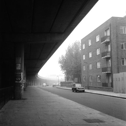 Motorway 'blight' off Ladbroke Grove; 1972