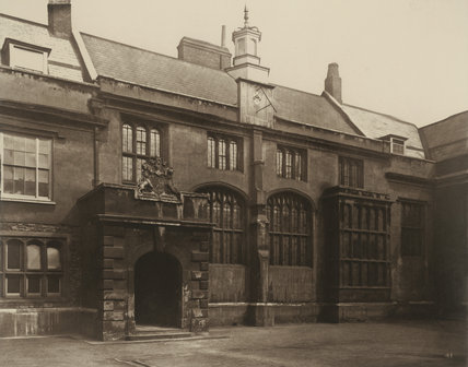 Charterhouse, the Great Hall: 1880