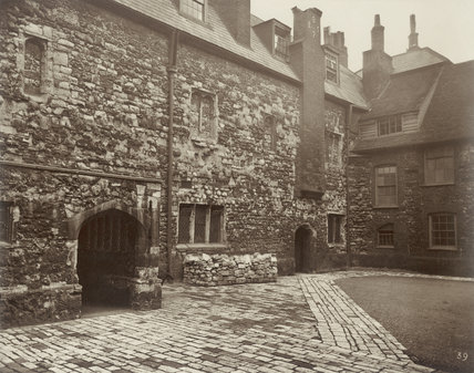 Charterhouse - Washhouse Court: 1880