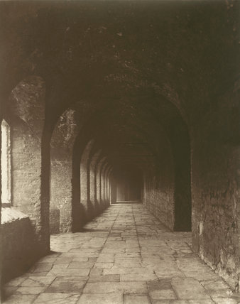 Charterhouse - Cloisters: 1880