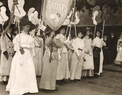 WSPU procession, 23 July 1910