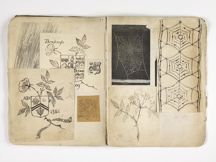 Source notebook compiled by Harry Powell c.1880-1910.