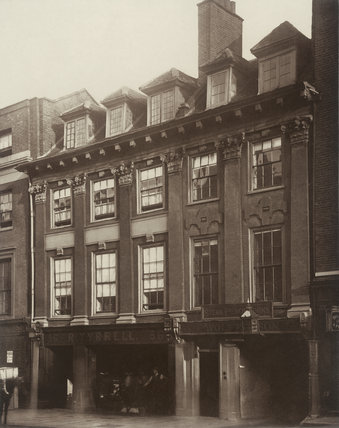 Old houses in Great Queen Street: 1879
