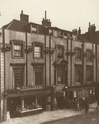 Shaftesbury House, Aldersgate Street: 1879