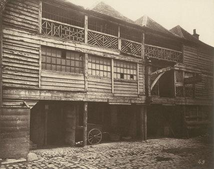 King's Head Inn yard, Southwark: 1881