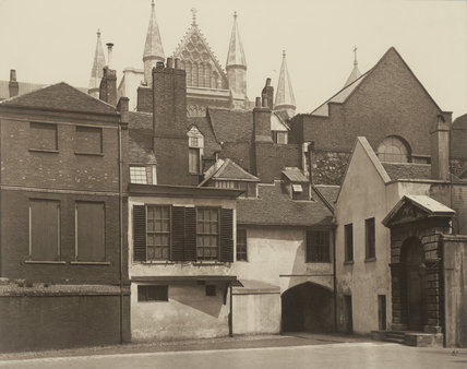 Little Dean's Yard, Westminster: 1882