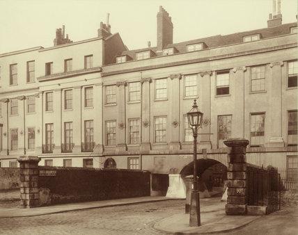Lincoln's Inn Fields, west side: 1882