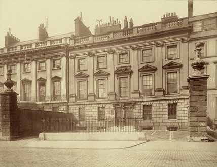 Lincoln's Inn Fields, Lindsey House: 1882