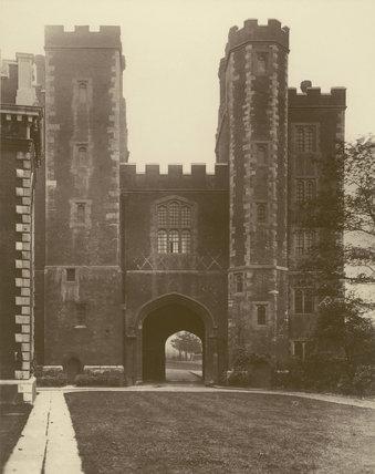 Lambeth Palace Gate House: 1883