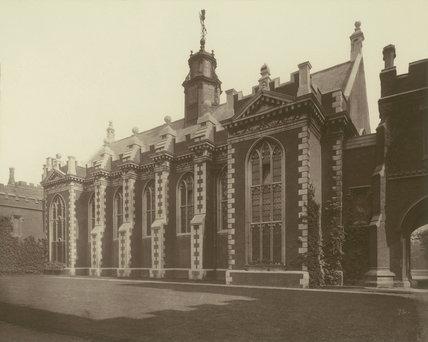 Lambeth Palace Great Hall: 1883
