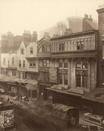 Old Houses, Aldgate: c.1882