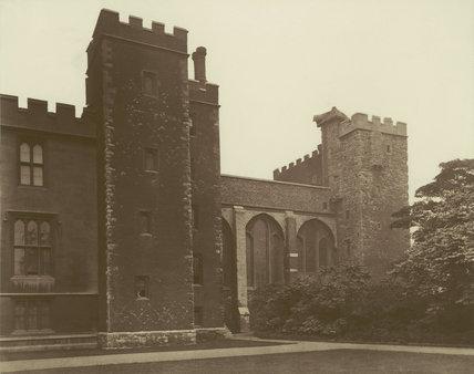 Lambeth Palace, Lollard's Tower: 1883