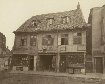 An old house, Palace Yard, Lambeth: 1883