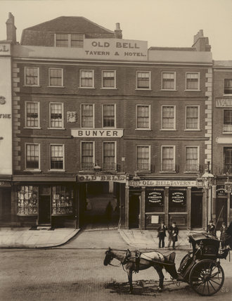 The Old Bell, Holborn: 1884