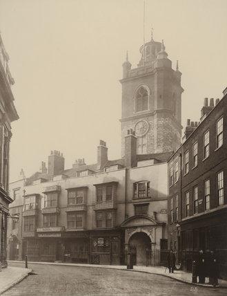 St Giles, Cripplegate: 1884