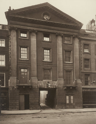 Middle Temple Gate House: 1885