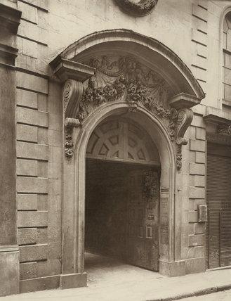A doorway, College Hill: 1884