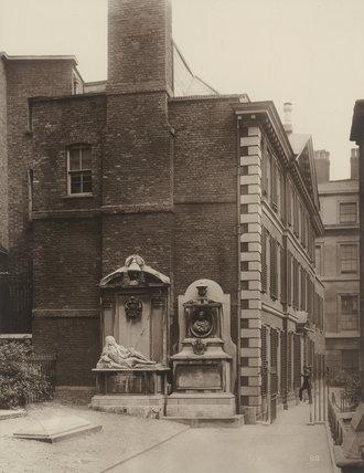 Churchyard Court, Inner Temple: 1885