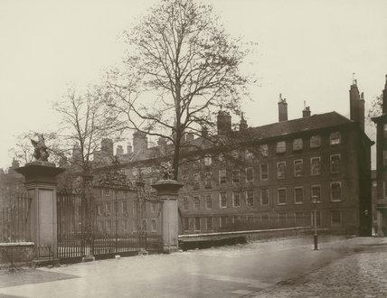 Gray's Inn, the Field Court: 1885