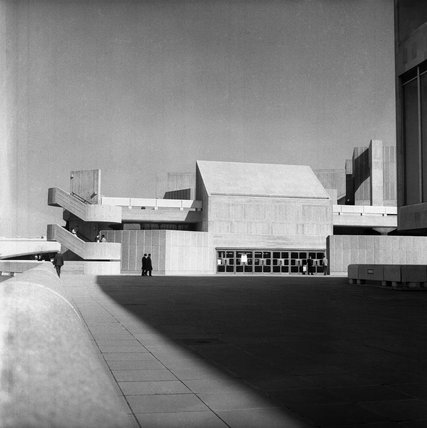 Queen Elizabth Hall, Southbank Centre; c.1970