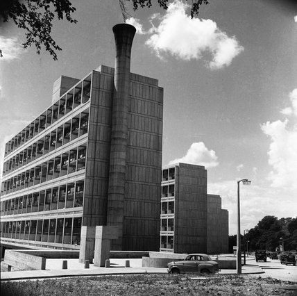 The Alton East Estate in Roehampton; 1958
