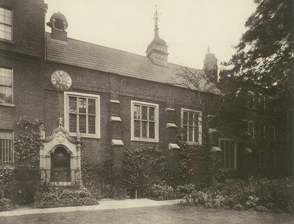 Staple Inn, The Hall: 1885