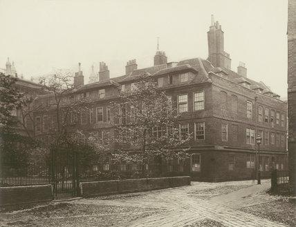 Clifford's Inn: 1885