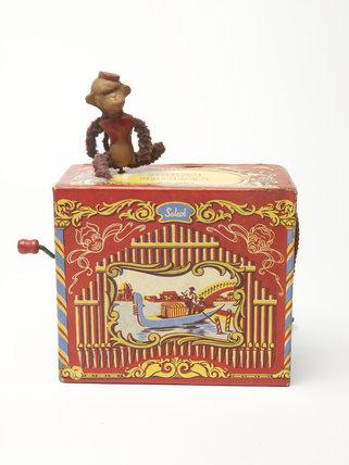 Toy organ grinder; c 1950
