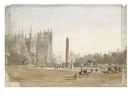 Proposed site on St Stephen's Green: 1878