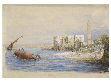 Cleopatra's Needle: 1877