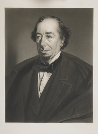 Portrait of Benjamin Disraeli; 1898