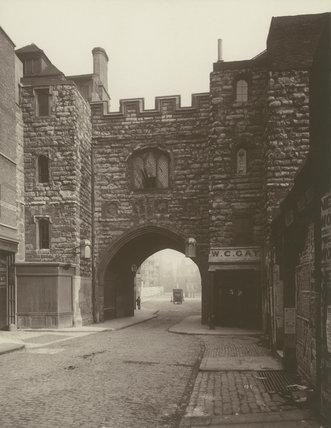 St John's Gate, Clerkenwell: 1886