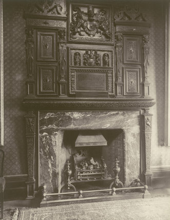 A Chimney Piece, Sessions House, Clerkenwell: 1886