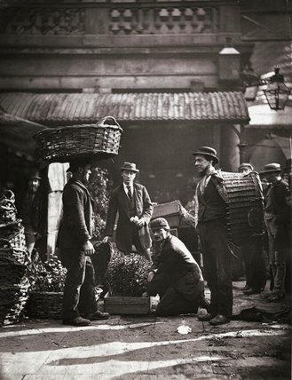 Covent Garden Labourers; c.1877