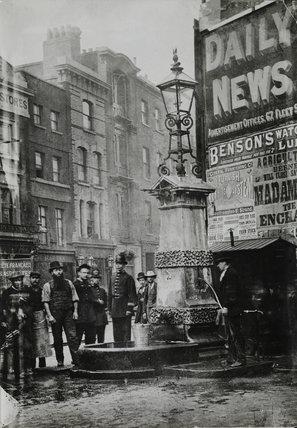 The Aldgate Pump; 1880